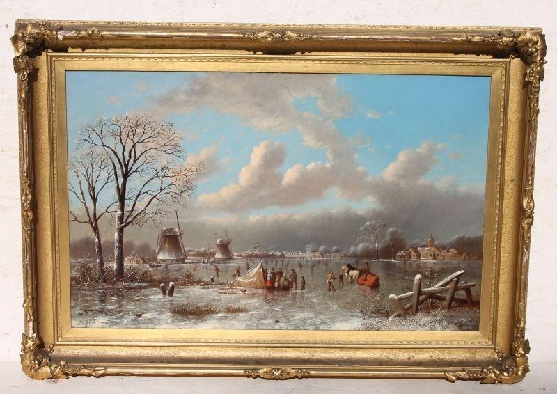 Excellent Johann Mongels Culverhouse (1820/25-1891/95)
