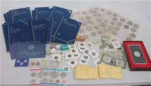 Large private American coin collection incl silver