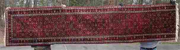 27x117 semiantique Hamadan Oriental runner