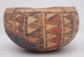 Antique Sw Native American Anasazi Pottery Bowl -