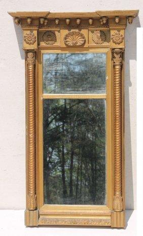Period Federal Ca 1800 Fine Fan Carved Boston Hall