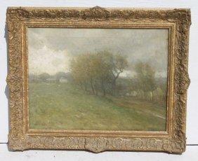 "William Henry Lippincott (1849-1920) 18""x24"" O/c Fine"