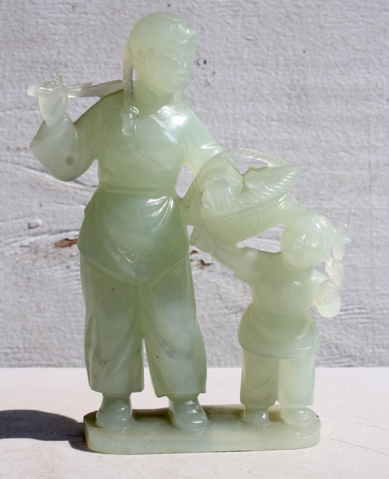 Peoples Republic of China Hetian jade carving of a