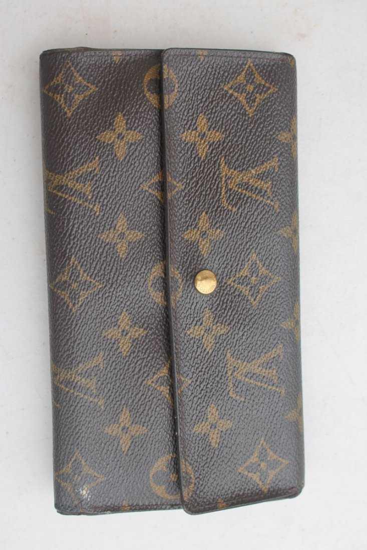 da3928465aa5e vintage authentic Louis Vuitton wallet