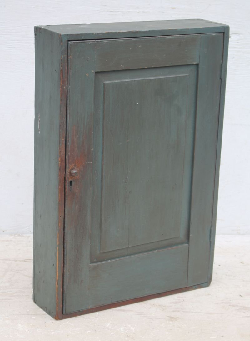 antique New England pine counter top cupboard (could be
