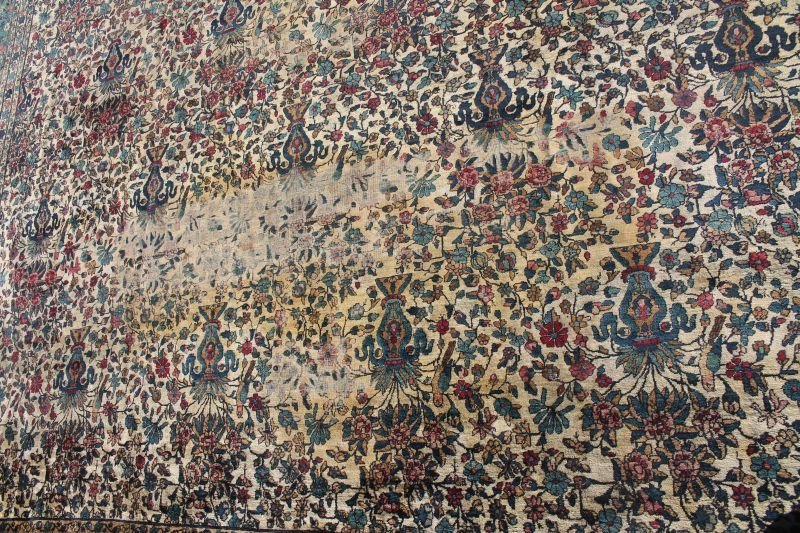 12'x14' semi-antique over size/rm size Oriental rug - 2