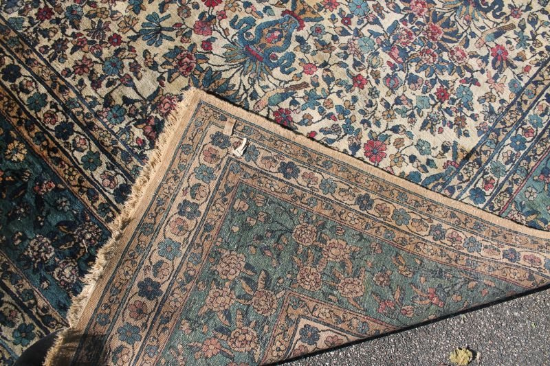 12'x14' semi-antique over size/rm size Oriental rug - 3