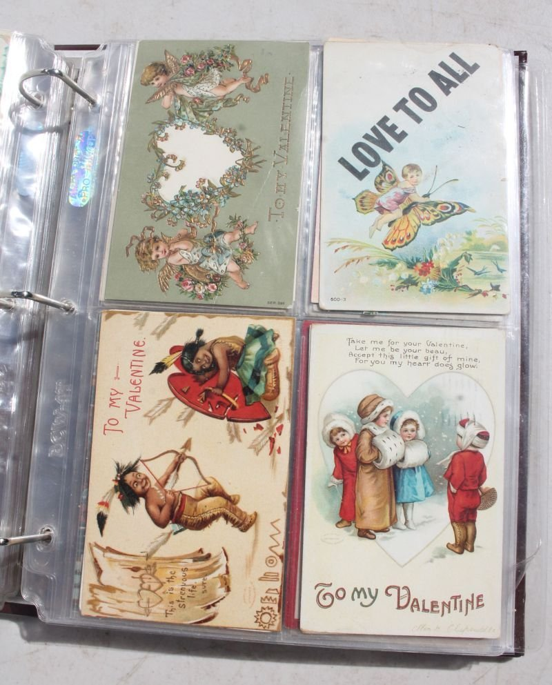Great lot of approx 165 Holiday Postcards incl - 10
