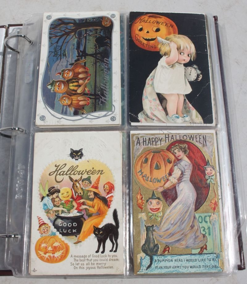 Great lot of approx 165 Holiday Postcards incl - 2