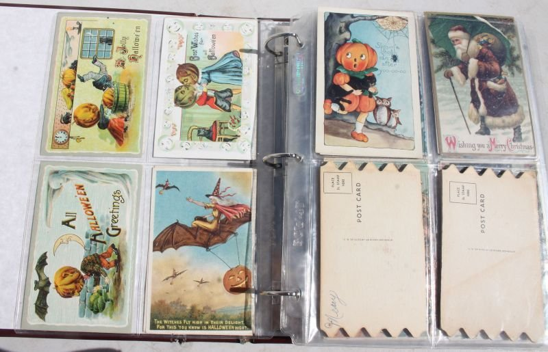 Great lot of approx 165 Holiday Postcards incl - 3
