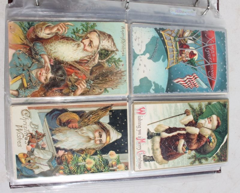 Great lot of approx 165 Holiday Postcards incl - 4