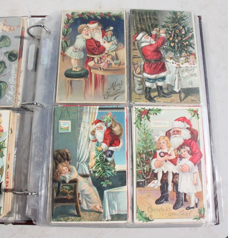 Great lot of approx 165 Holiday Postcards incl - 5