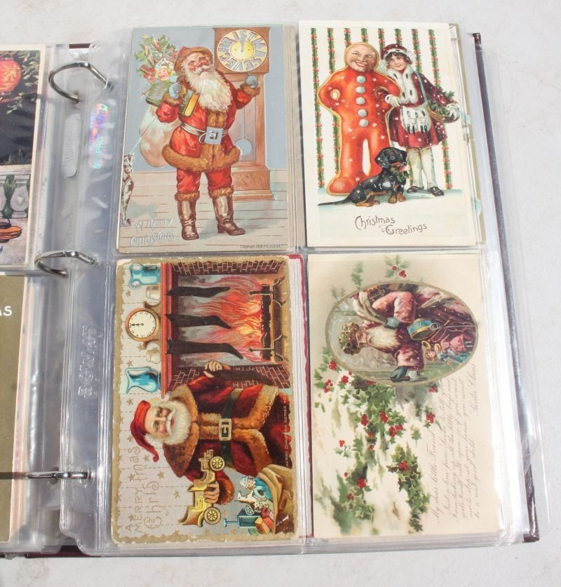 Great lot of approx 165 Holiday Postcards incl - 6