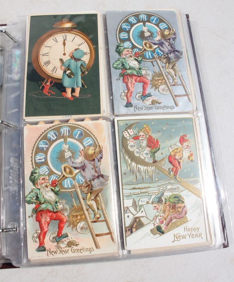 Great lot of approx 165 Holiday Postcards incl - 7