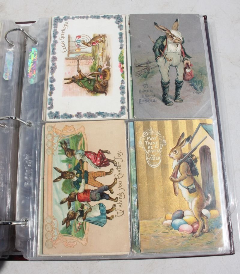 Great lot of approx 165 Holiday Postcards incl - 9