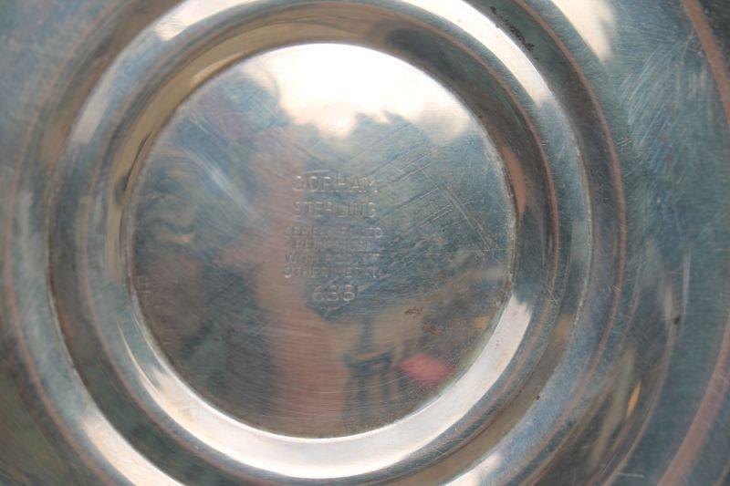 fine pr of Gorham sterling silver 7 light candelabrum - 3