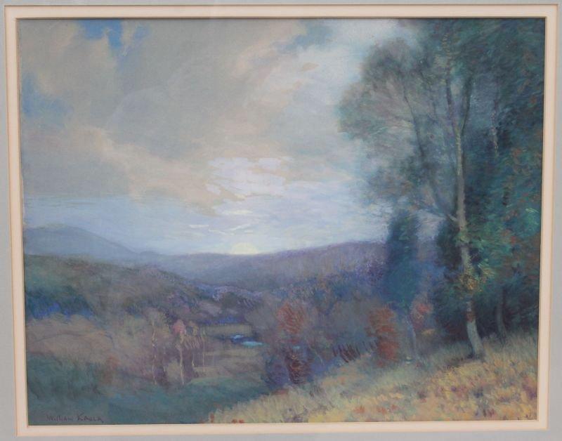 "William Jurian Kaula (1871-1953) 14""x18"" sight size"