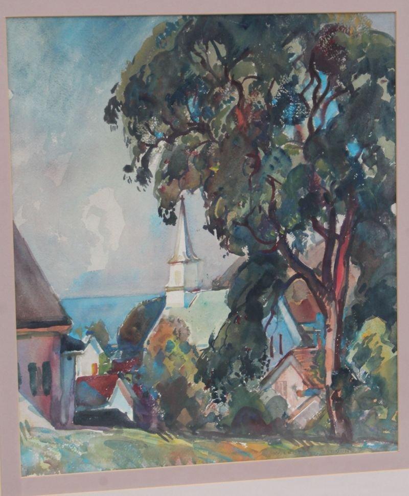 "William Lester Stevens (1888-1969) 22""x19"" sight size"