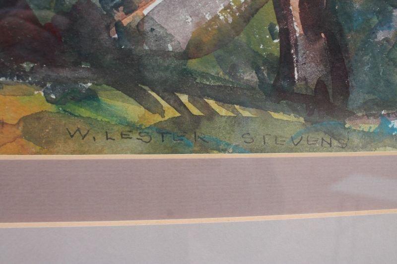 "William Lester Stevens (1888-1969) 22""x19"" sight size - 2"
