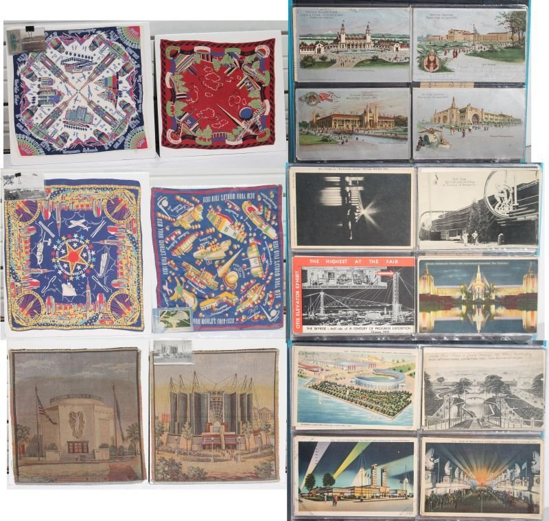 Great lot of World's Fair & Exposition items incl 2