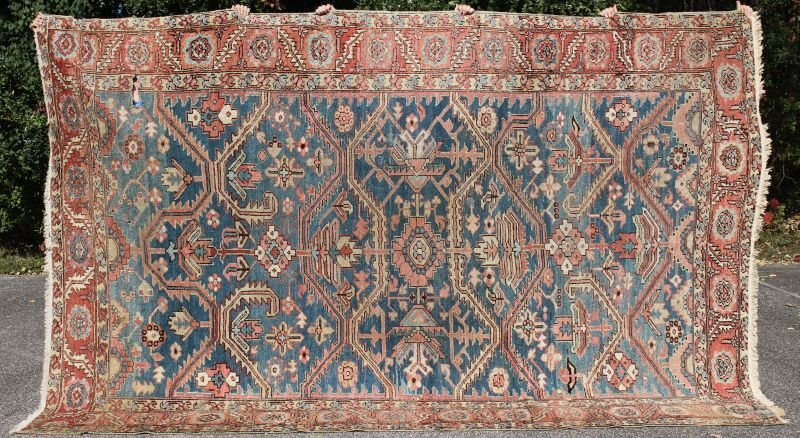 "8'1""x12'2"" Persian Goravan (Heriz) Oriental rm size rug"