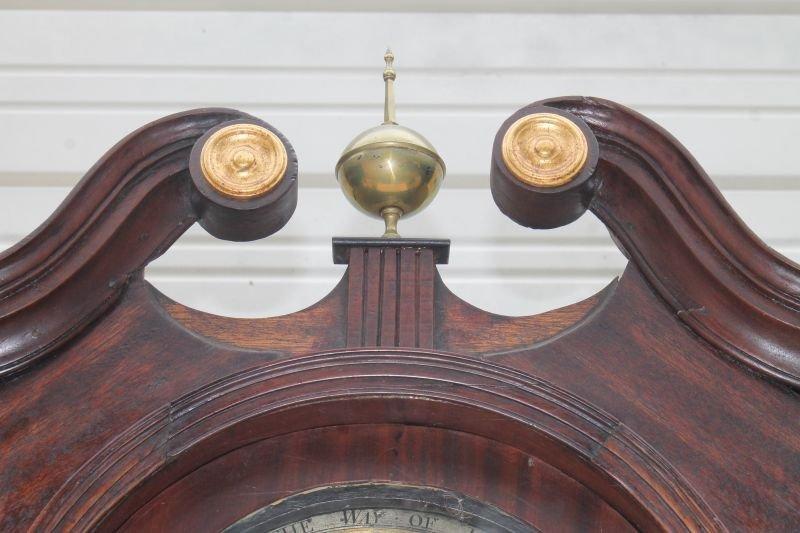 ca 1830's English or Scottish tall clock w rare sweep - 2
