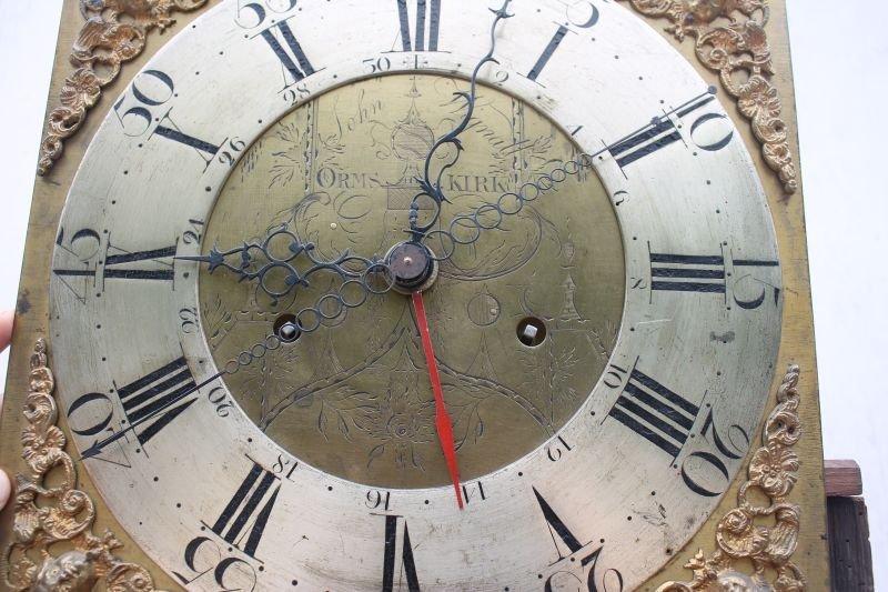ca 1830's English or Scottish tall clock w rare sweep - 5