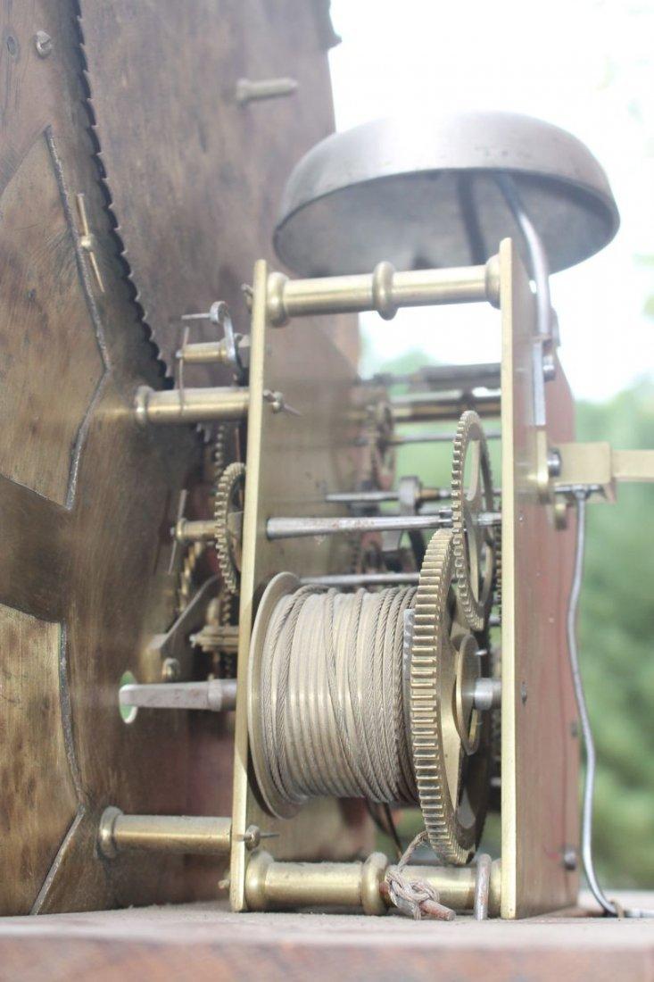 ca 1830's English or Scottish tall clock w rare sweep - 7