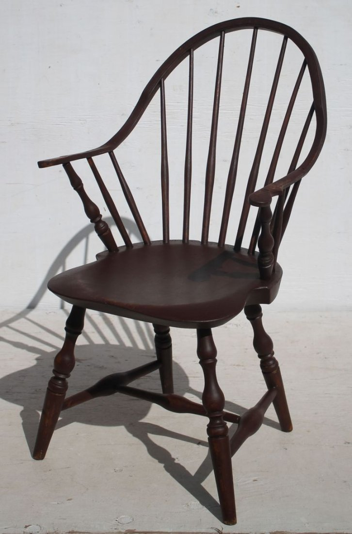 """Very rare sgnd """"B. Green"""" ca 1790 Eastern CT continuous"""