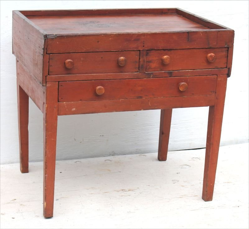 Rare Enfield CT early ca 1820's/30's Shaker maple &