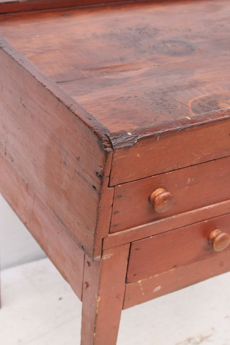 Rare Enfield CT early ca 1820's/30's Shaker maple & - 2