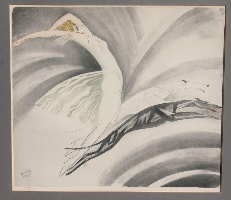 Very rare pencil sgnd William Fadat (Louis Icart - 3