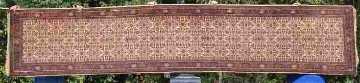 28x14 semiantique Persian Sarouk Oriental runner
