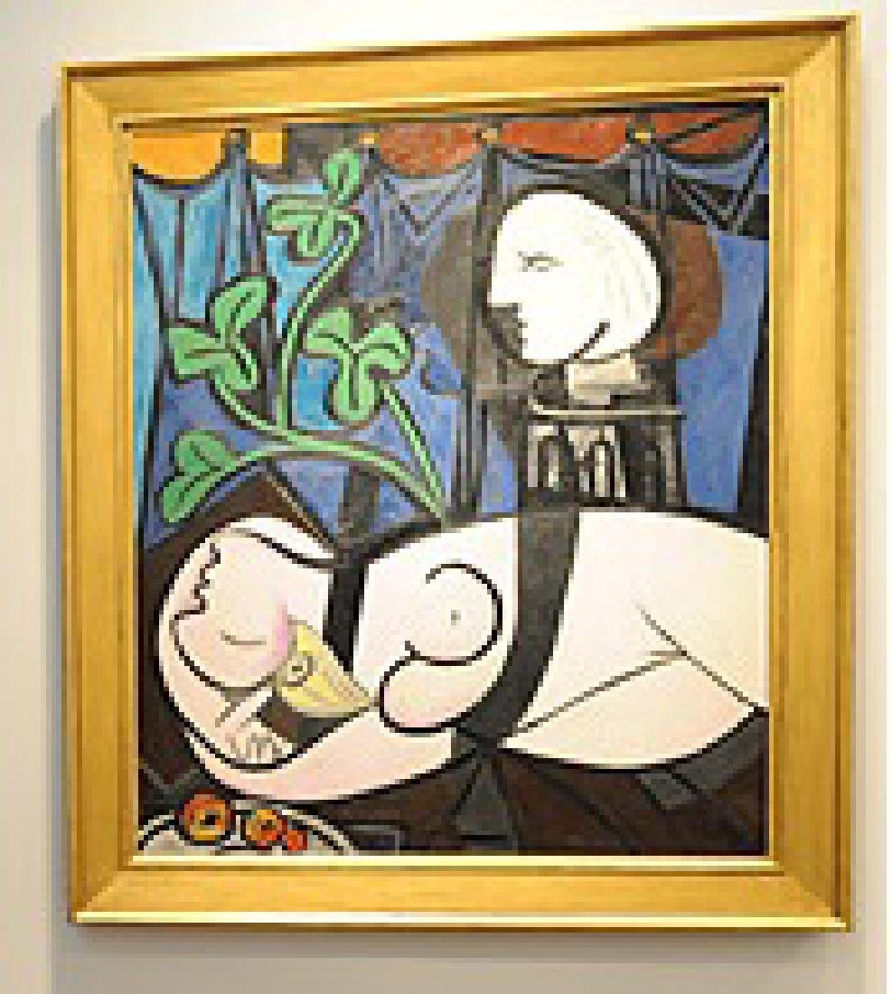 Pablo Picasso's Nude, Green Leaves and Bust