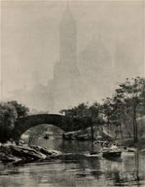 EDWARD ALENIUS, ARPS - Central Park Lake