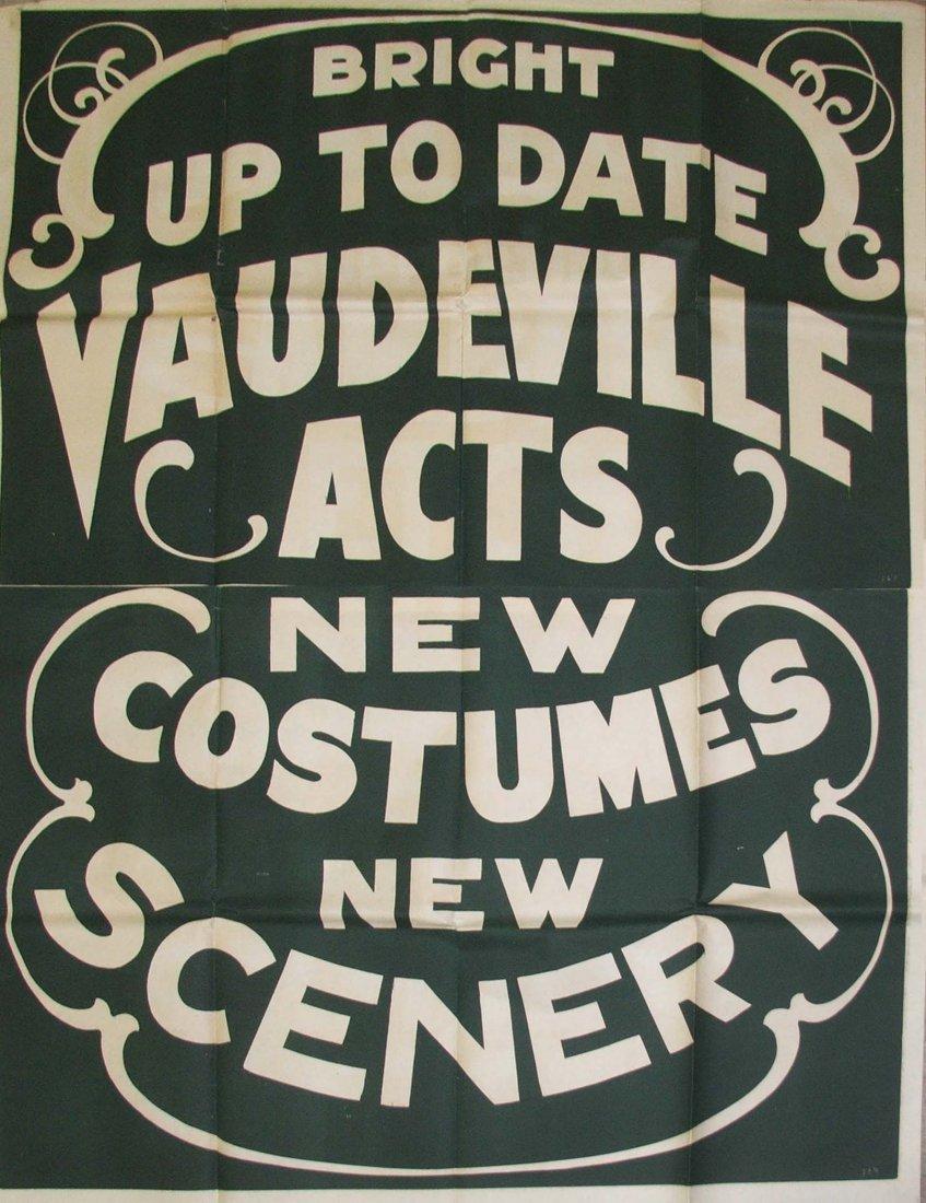 Vaudeville Acts
