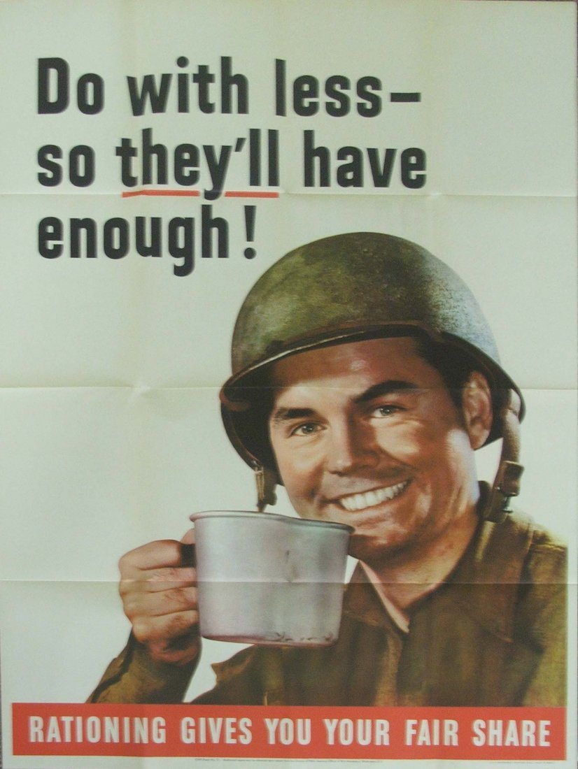 Rationing Poster