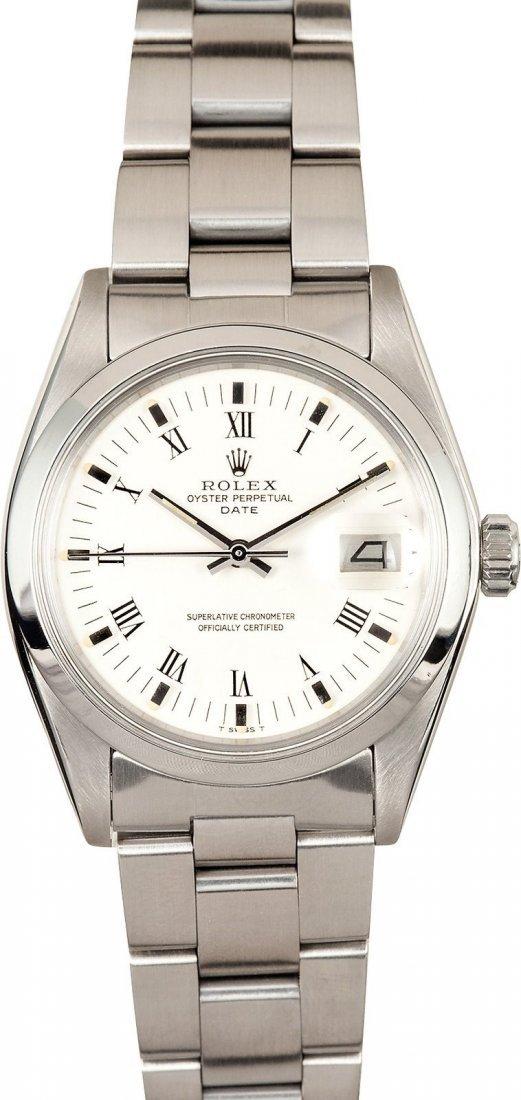 Pre-Owned Rolex Date