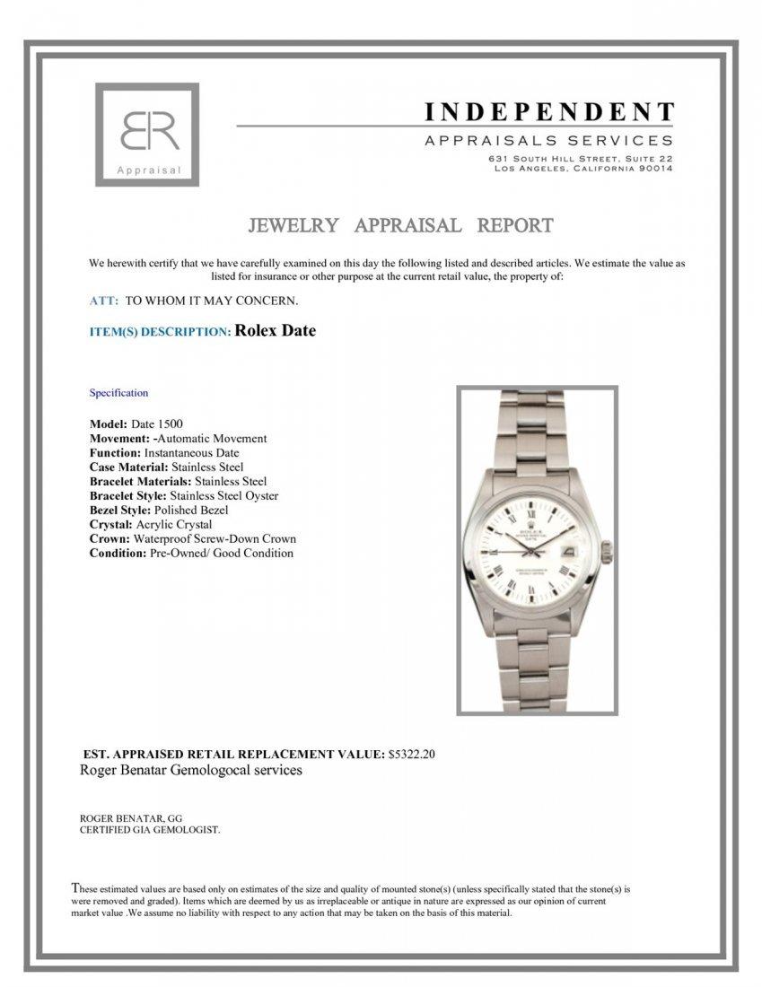 Pre-Owned Rolex Date - 3