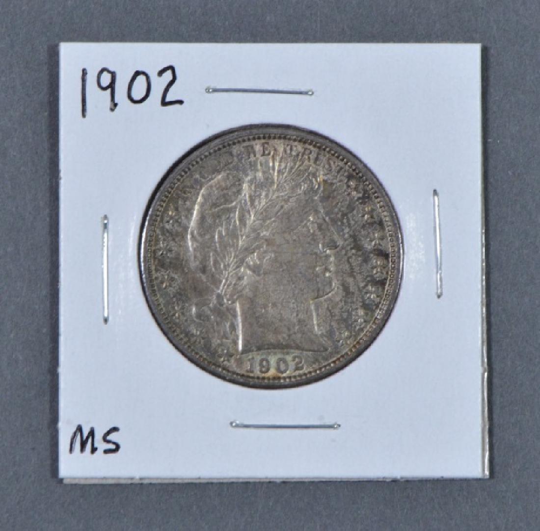 1902 Barber Half Dollar