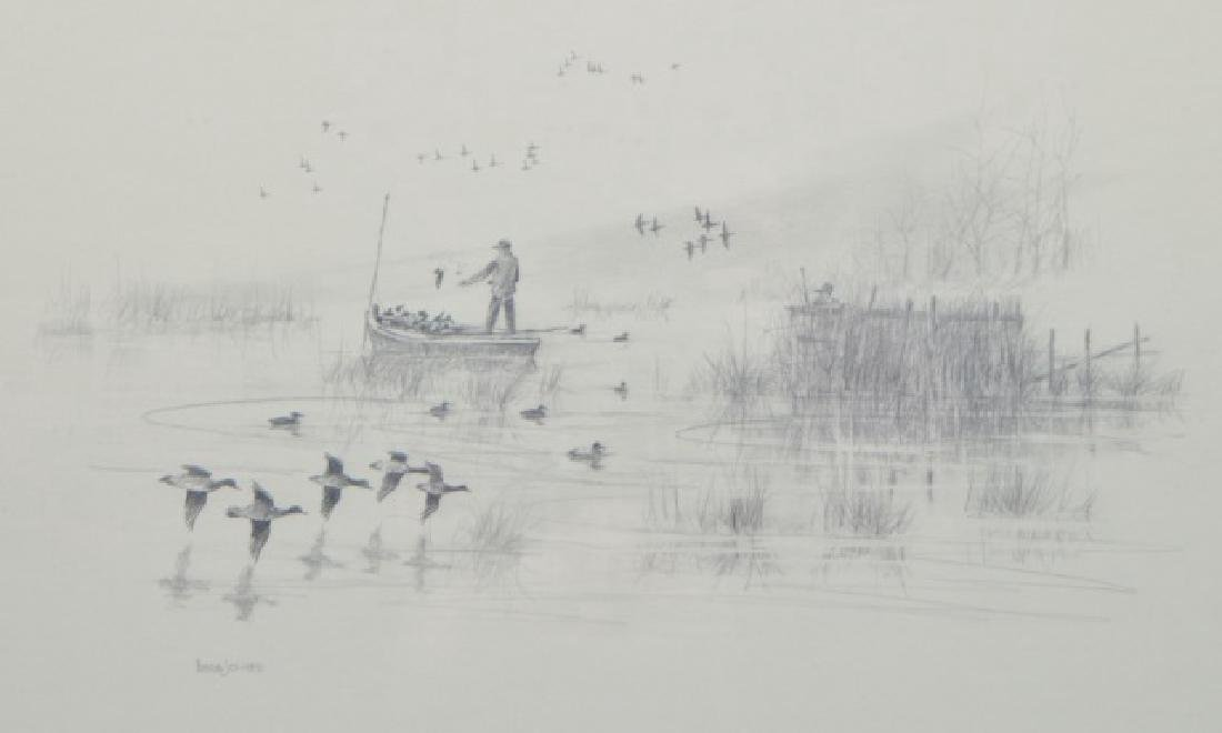 Herb Jones Pencil Sketch - 3