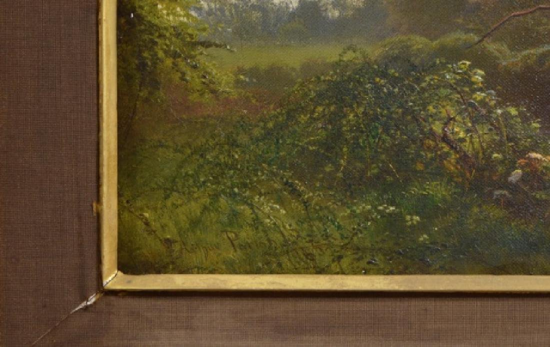 Arthur Parton Oil on Canvas - 4