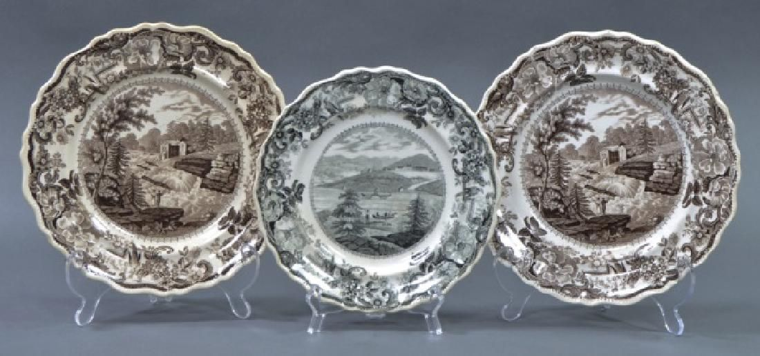 Group of Clews Staffordshire Transferware