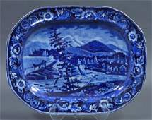 Clews Staffordshire Transferware Platter