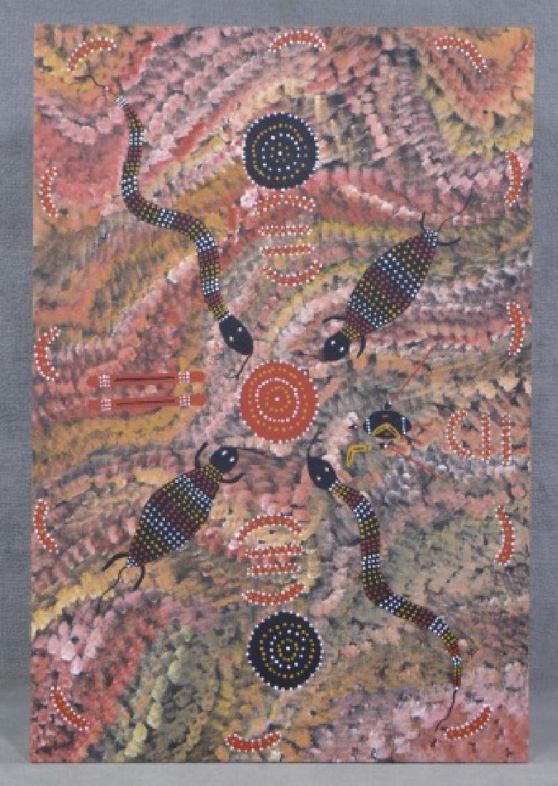 Barney Daniels Tjungurrayi Acrylic on Canvas