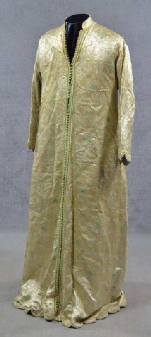 Chinese Silk Moroccan Court Gown