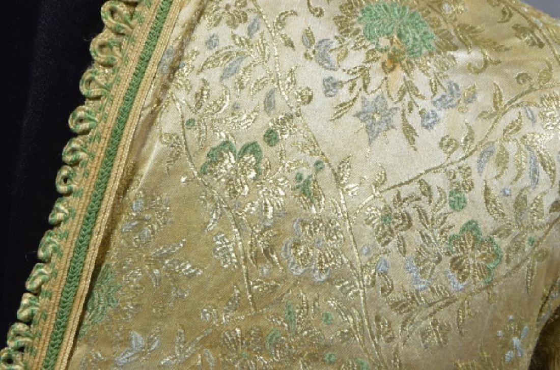 Chinese Silk Moroccan Court Gown - 3