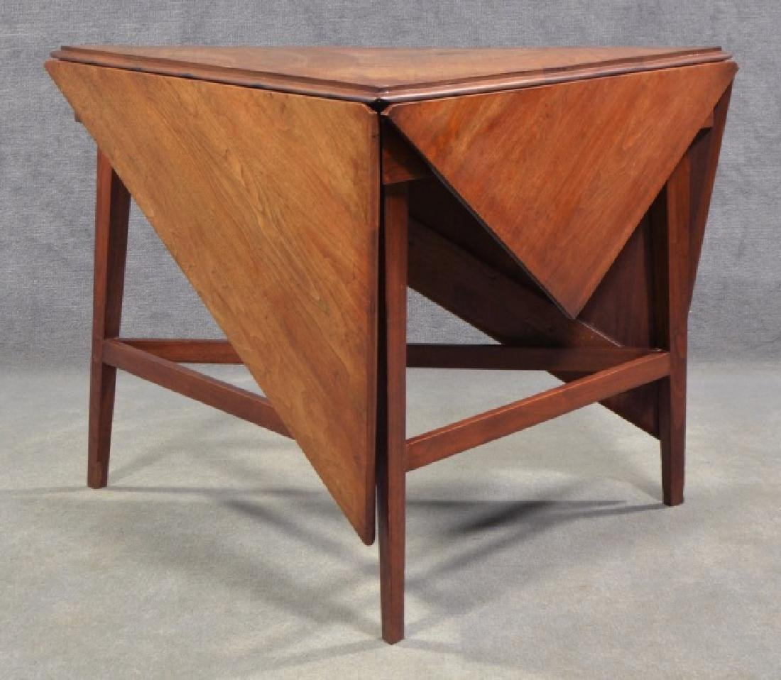 Mid-Century Modern Drop Leaf Occasional Table