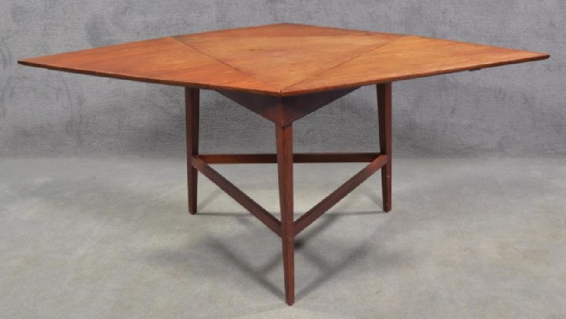 Mid-Century Modern Drop Leaf Occasional Table - 3
