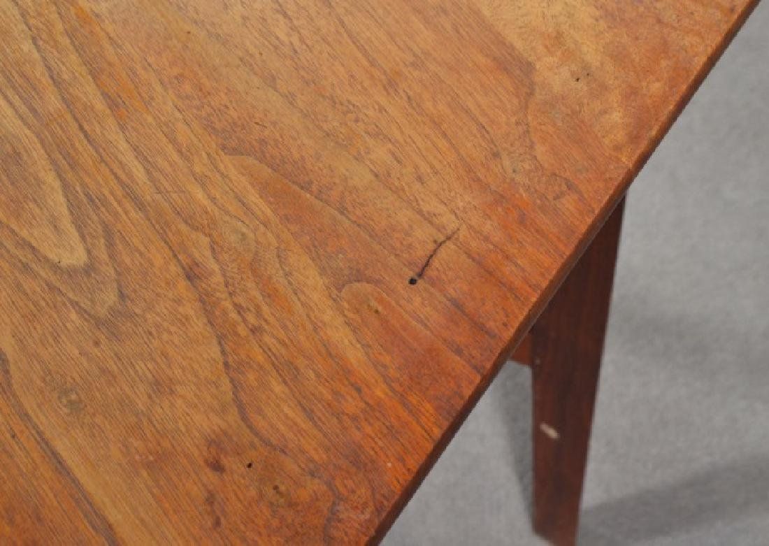 Mid-Century Modern Drop Leaf Occasional Table - 5